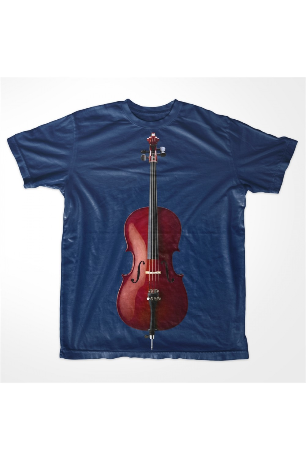 KABOX Men Printed T shirt Violin